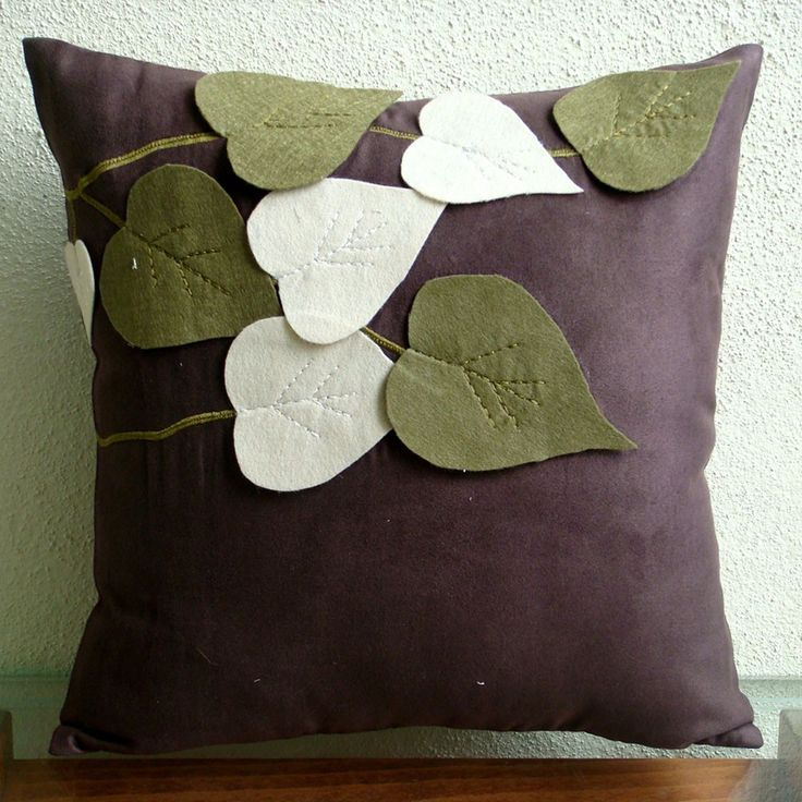 lovely leaves in green and purple. and, SO easy to make - bonus!