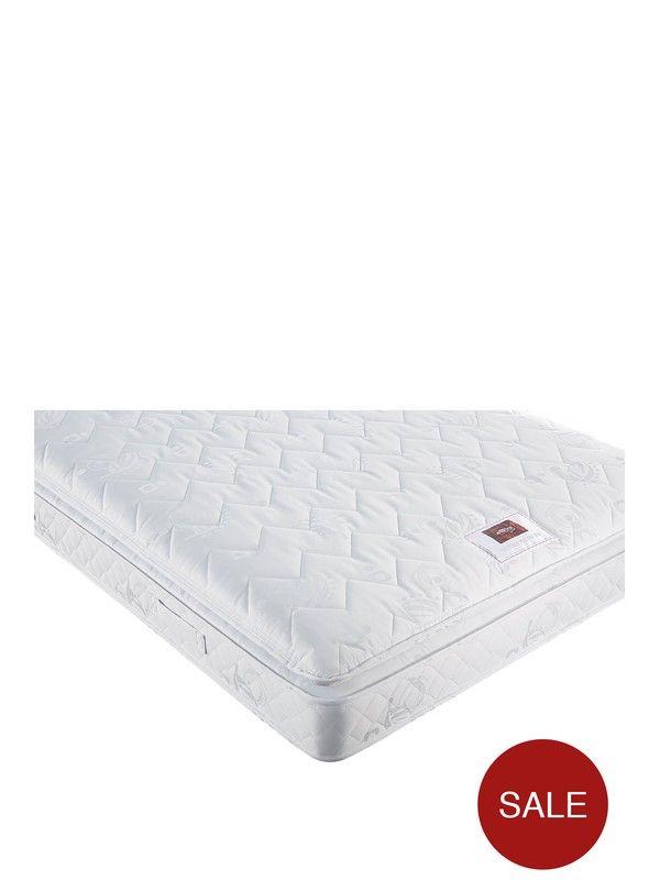 airsprung victoria pillow top mattress medium firm