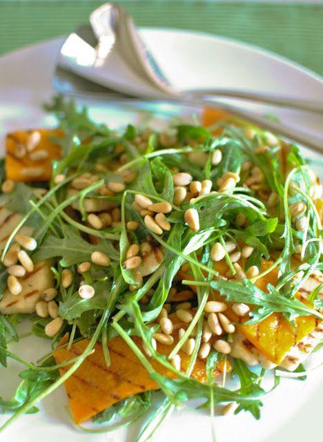 Scandi Home Haloumi Pumpkin Rocket Salad