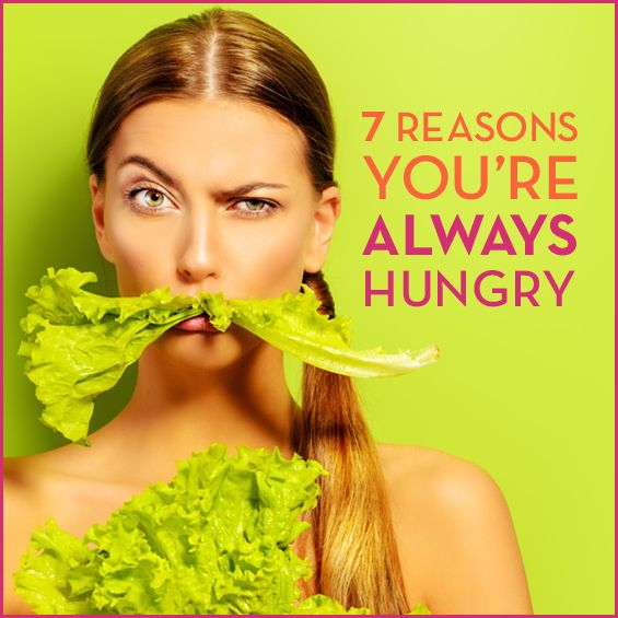 From dehydration to a lack of sleep, there are several reasons why you may be constantly munching. Find out why you're always hungry and how to fix it!