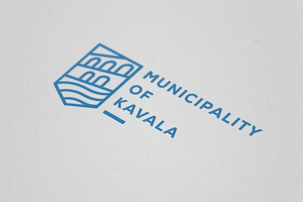 Branding for the City of Kavala on Behance logo design