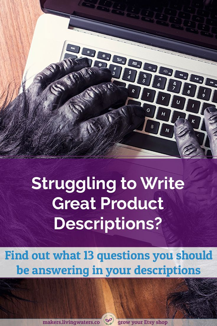 Stop guessing what to write in your product descriptions and start increasing your sales with these 13 things to include in your product description.