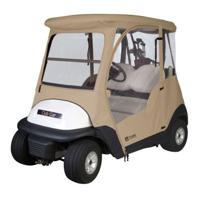 "Classic Accessories Club Car Precedent Golf Cart Enclosure: ""Club Car Precedent Golf Cart Enclosure Custom… #Golf #GolfClubs #GolfEquipment"