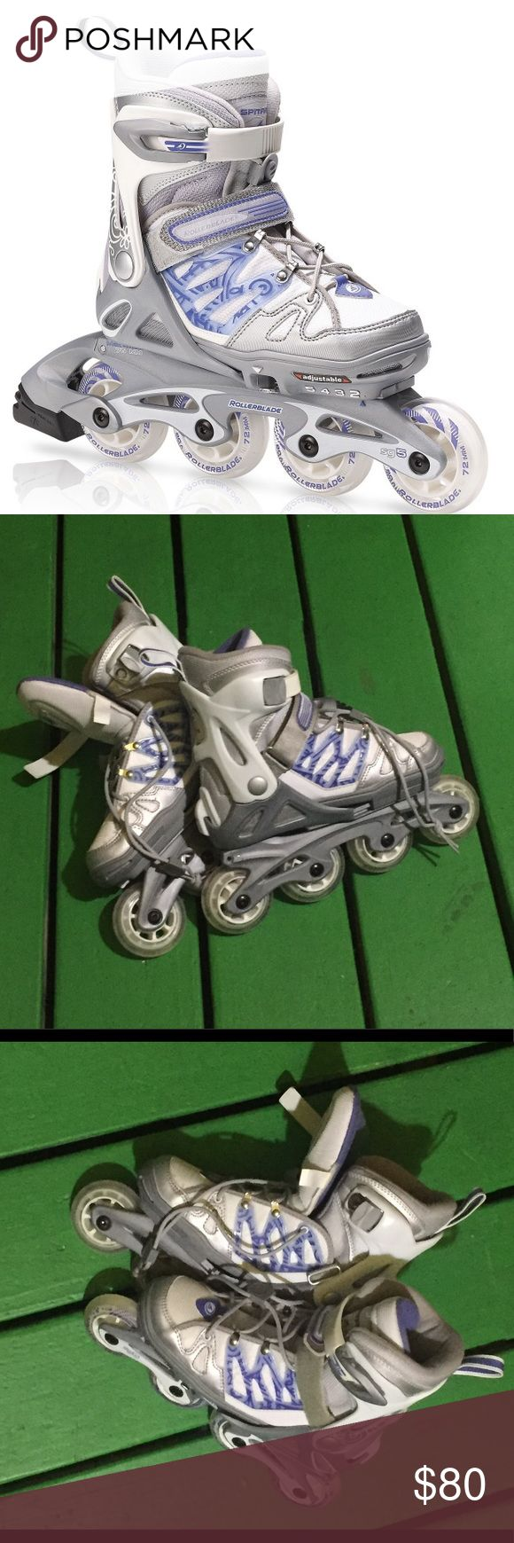 Spitfire TW G Adjustable Rollerblades for Girls These rollerblades haven't been used and are adjustable in size for girls. Spitfire Other
