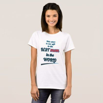Love U Mom! T-Shirt - occasion gifts gift idea diy