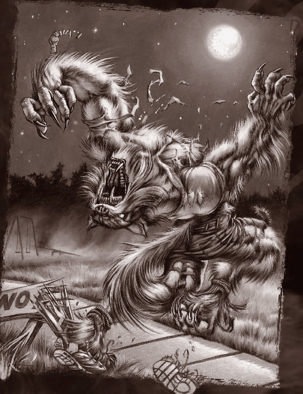 3287 Best Dogman, Skin-Walkers, Werewolves And A Sundry -3395