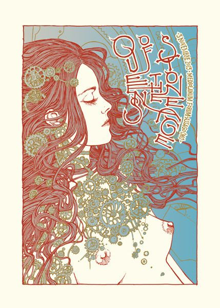 Queens Of Stone Age - gig poster