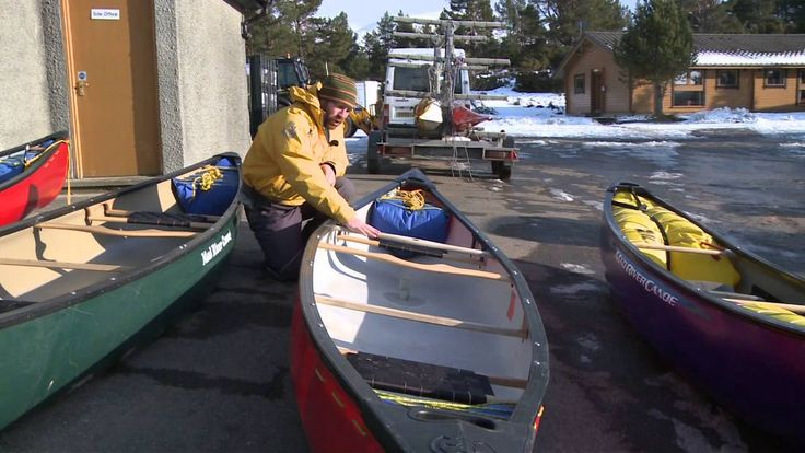 Canoeing - Outfitting a boat
