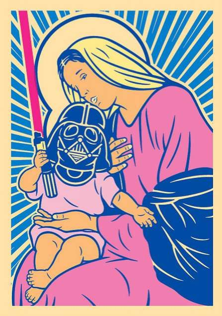 Holy Mother & Vader. It's ok, Mary - we know all about Midichlorians now ;)