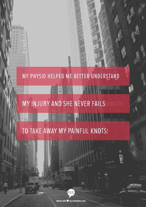 - Jordan. (Physio, Caroline, Hillcrest Physiotherapy Clinic, Hamilton)