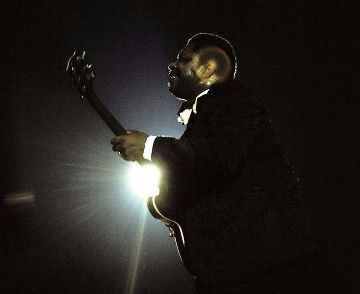 B.B. King performs at the Newport Jazz Festival at Yankee Stadium, 1972