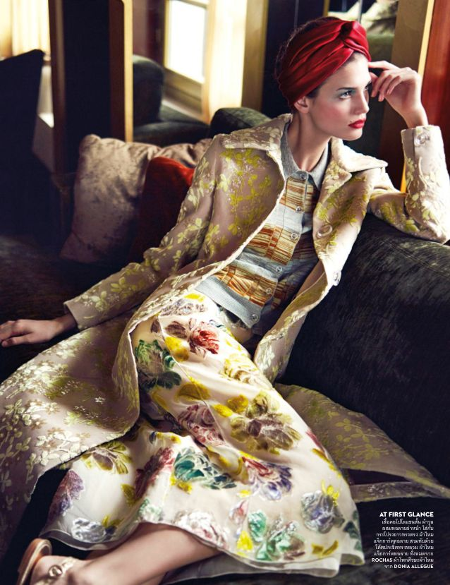 Vogue May 2014 Thailand | Kendra Spears by Marcin Tyszka
