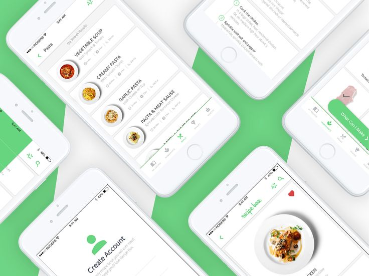 "Check out this @Behance project: ""Recipe Box || App UI Design"" https://www.behance.net/gallery/47546961/Recipe-Box-App-UI-Design"
