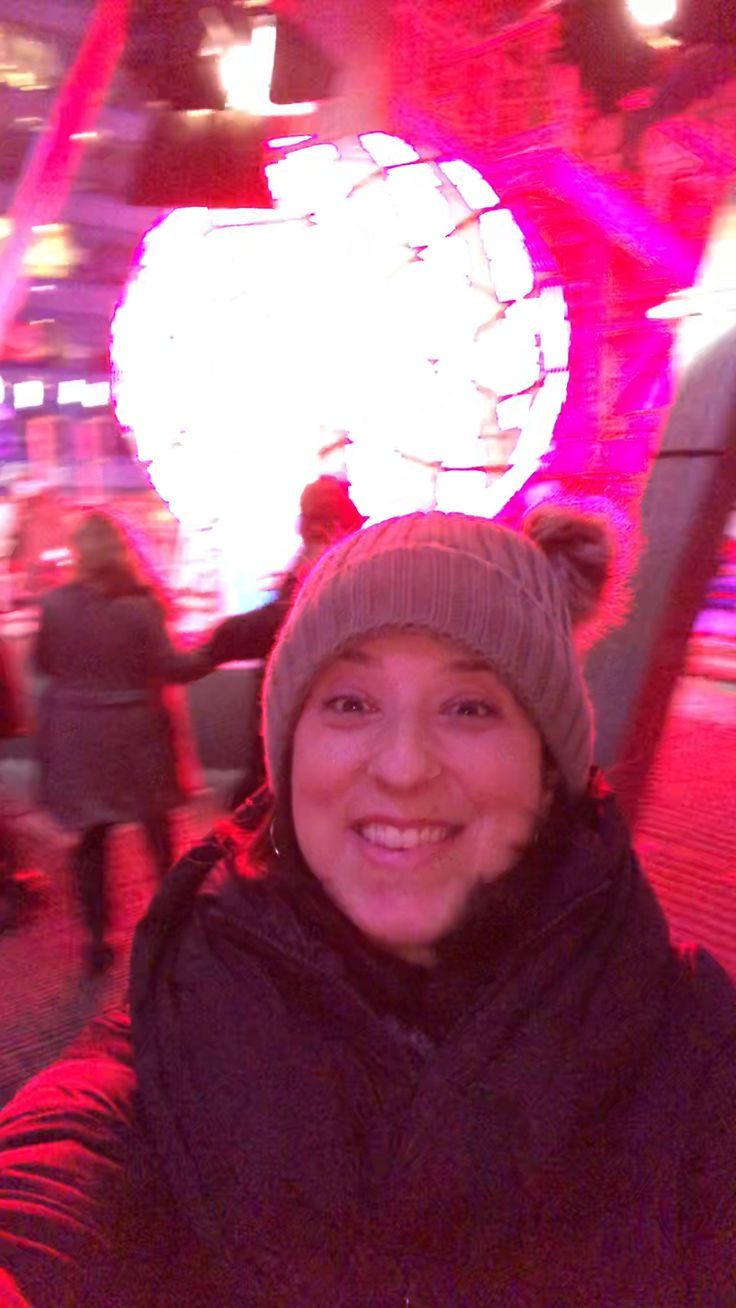 From atop 1 Times Square and the New Years Eve Ball! Happy