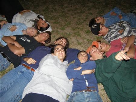 """Star-gazing with family and/or close friends... """"The place to have a heart to heart is always under the open stars"""" -@Matthew Thomas  Remember this night? @Melissa Niednagel  @Micaiah Thomas"""