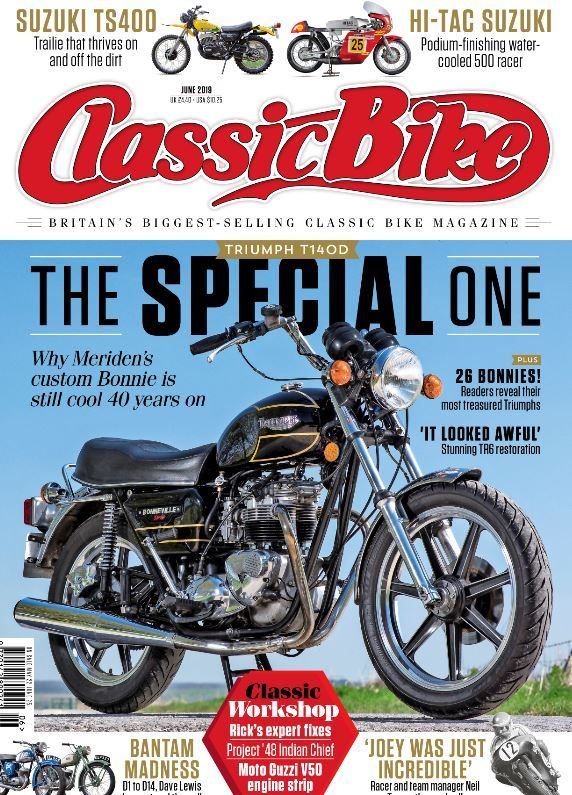 Classic Bike June 2019 Classic Bikes Bike Magazine