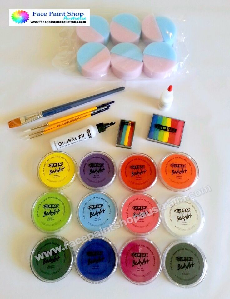 17 best ideas about face painting kits on pinterest face for Face paints supplies