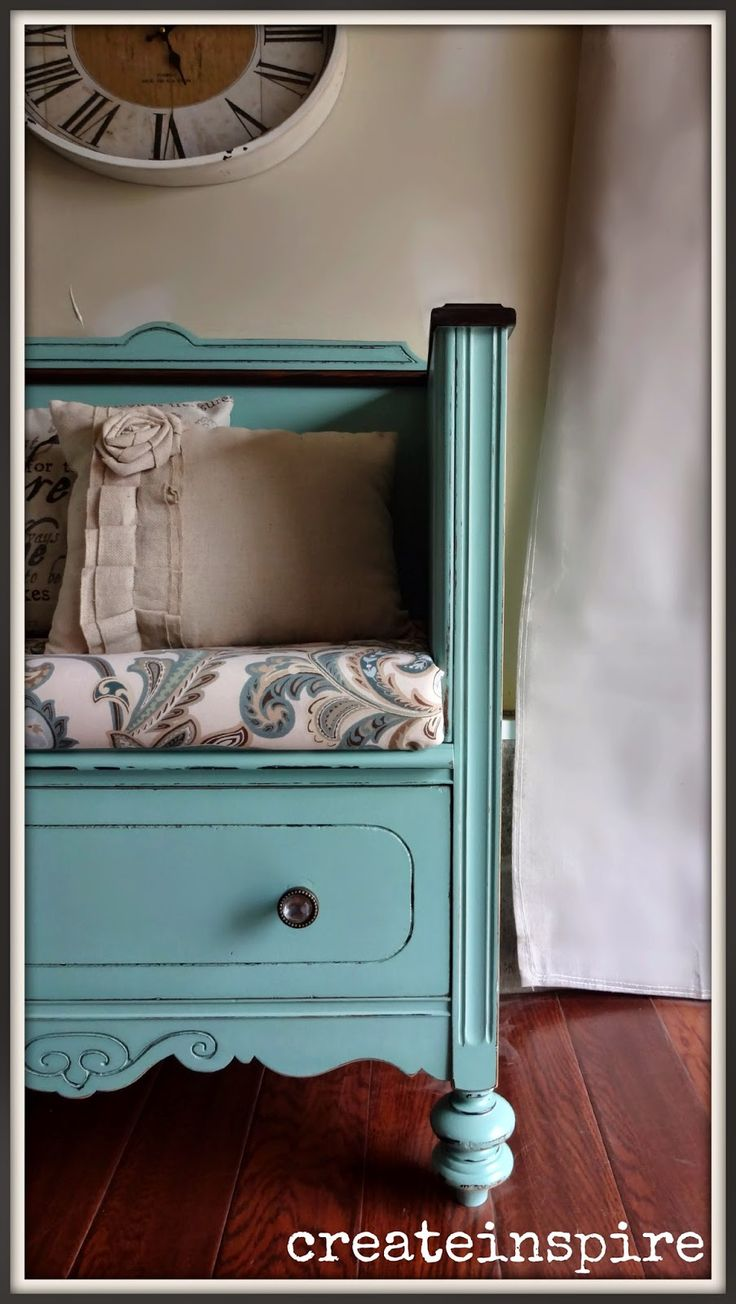 I found this dresser not to long after I started painting. I wasn't very picky then. I knew the drawers were broken and thought it would ...
