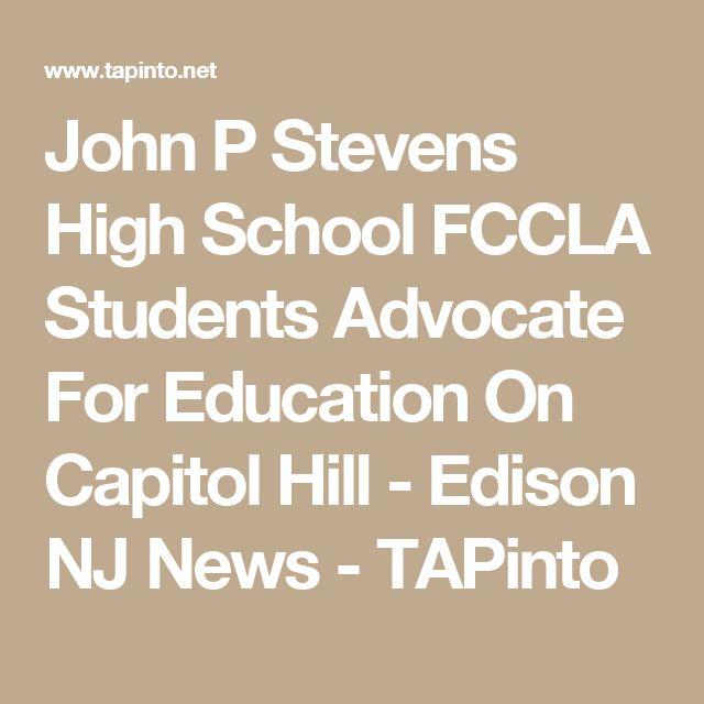 John P Stevens High School FCCLA Students Advocate For Education On Capitol Hill - Edison NJ News - TAPinto