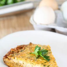 Roasted Cauliflower Frittata