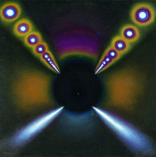 "Eric Bulatov ""Black tunnel"" 1964"