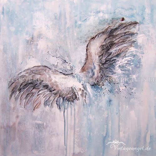 Wings, Flügel - Acryl auf Leinwand