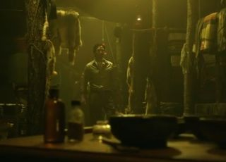 Abbie and Ichabod meet with the shaman