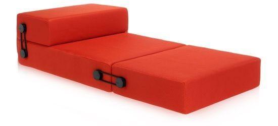 Kartell Trix poef/chaise longue - oranje €900