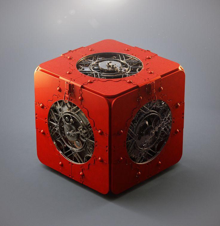 Portal  Time Travel Concept Puzzle