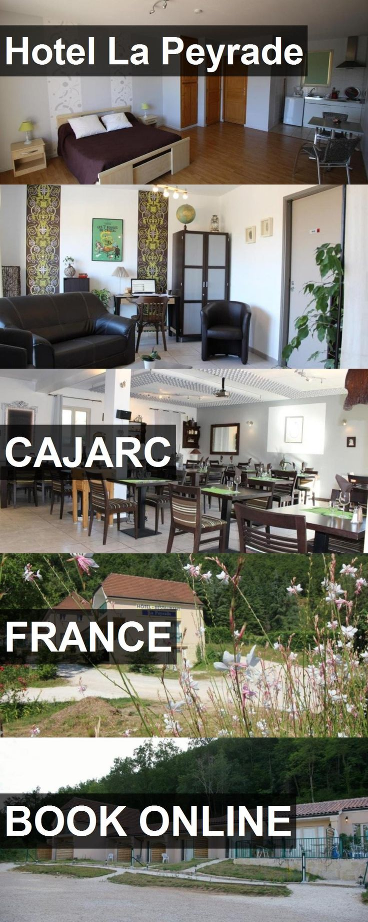 Hotel La Peyrade in Cajarc, France. For more information, photos, reviews and best prices please follow the link. #France #Cajarc #travel #vacation #hotel
