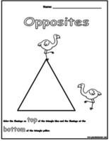 83 best Opposites / Shapes theme images on Pinterest