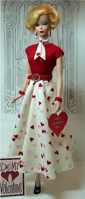 Be my Valentine Barbie: