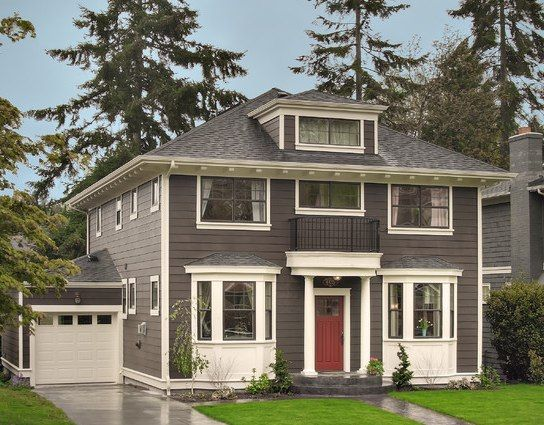 Combination Exterior Paint Color Schemes | Exterior Paint Color Ideas