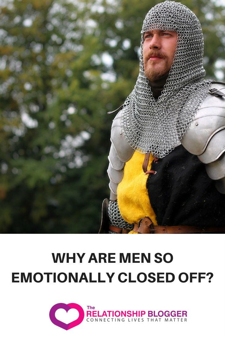 Why are men so emotionally closed off?