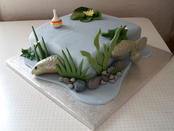 fish wedding cake ideas 208 best images about fishing cakes on bass 14300