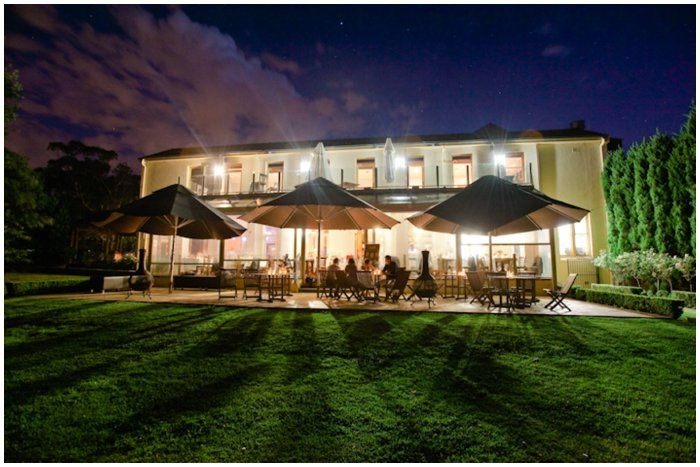 The Estate Restaurant at night Location: Morning Star Estate  Photograph: Tigs Macallan http://www.tigsmacallan.com.au