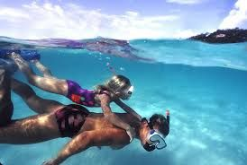 Image result for snorkeling father and daughter
