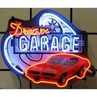 """#Retro Pontiac GTO """"Dream Garage"""" Neon Sign  http://www.retroplanet.com/PROD/34441"""