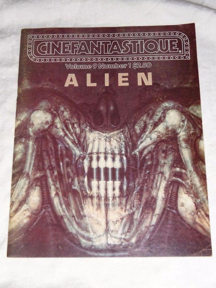1979 Cinefantastique Magazine Vol 9 No 1 ALIEN Incredible SiFi Movie Info Images