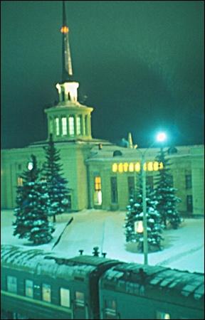 Petrozavodsk Train Station, Petrozavodsk,   Republic of Karelia, Russia (1996-1998)