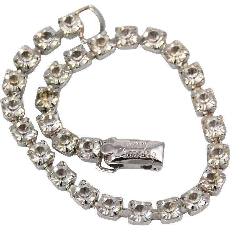 Coro Rhinestone Tennis Bracelet for Carol Channing