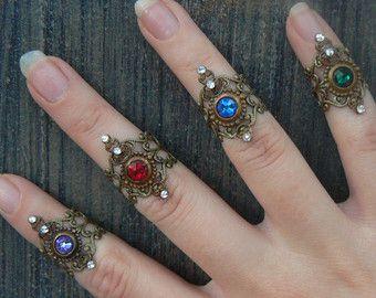 Lenkhebel Ring Midi Ring wählen eine Rüstung Ring von gildedingypsy