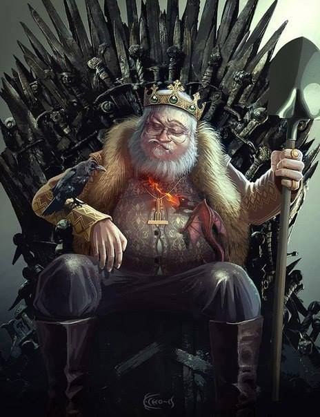 game of thrones king crow