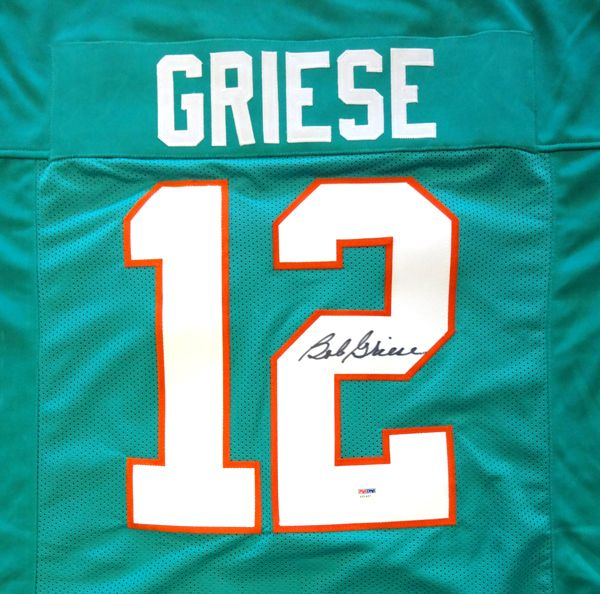 Bob Griese Autographed Miami Dolphins Jersey PSA/DNA   Gameday Sports U0026  Memorabilia