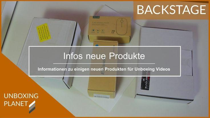 Video mit Informationen über neue Produkte für Unboxing Videos #video #informationen #neueprodukte #unboxingvideos