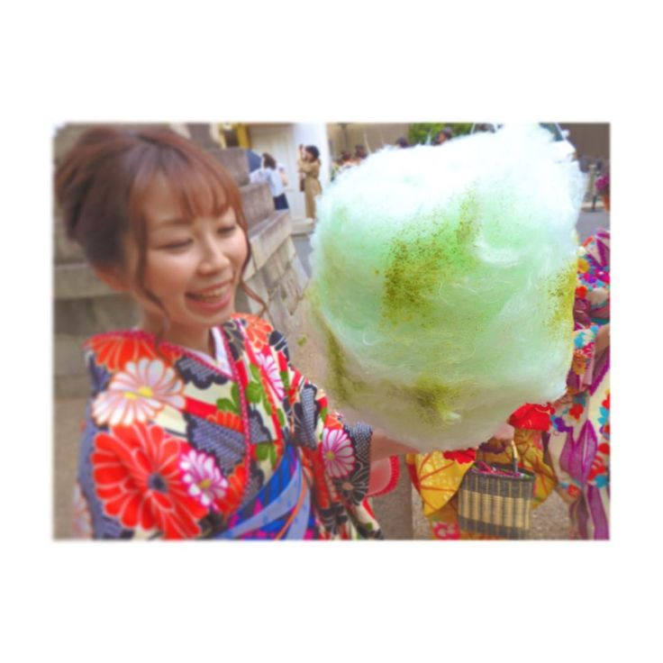 Charming Cotton Candy Shop in Kyoto Offers Unique Flavors | Tokyo Otaku Mode News // small take-home packs with seasonal flavors for souvenirs