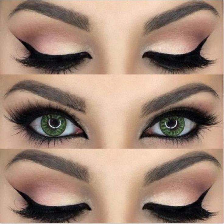 nice Какие тени подходят для зеленых глаз? (50 фото) — Стильные оттенки