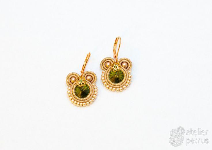 MINOA - everyday soutache earrings