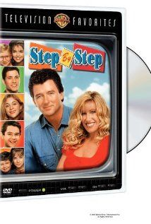 Step by Step (part of ABC's TGIF line up when our sons were young :->) Starring: Patrick Duffy (dad), Suzanne Summers (mom), Brandon Call ('J.T.'), Staci Keanan (Dana), Christine Lakin ('Al'), Angela Watson (Karen), Christopher Castile (Karen), Josh Byrne (Brendan), Sasha Mitchell (cousin Cody, whom loved getting head rushes from cold ice cream ;-p)