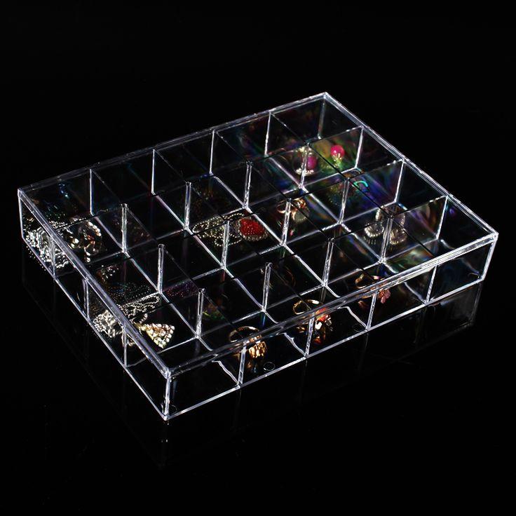 groothandel helder zicht plastic sieraden kralen doos compartiment opbergdoos 20 vakken in Noot:1. wij verkopen alleen de sieraden display box, maar andere items zijn niet inbegrepen.groothandel helder zicht pla van sieraden display en verpakking op AliExpress.com | Alibaba Groep